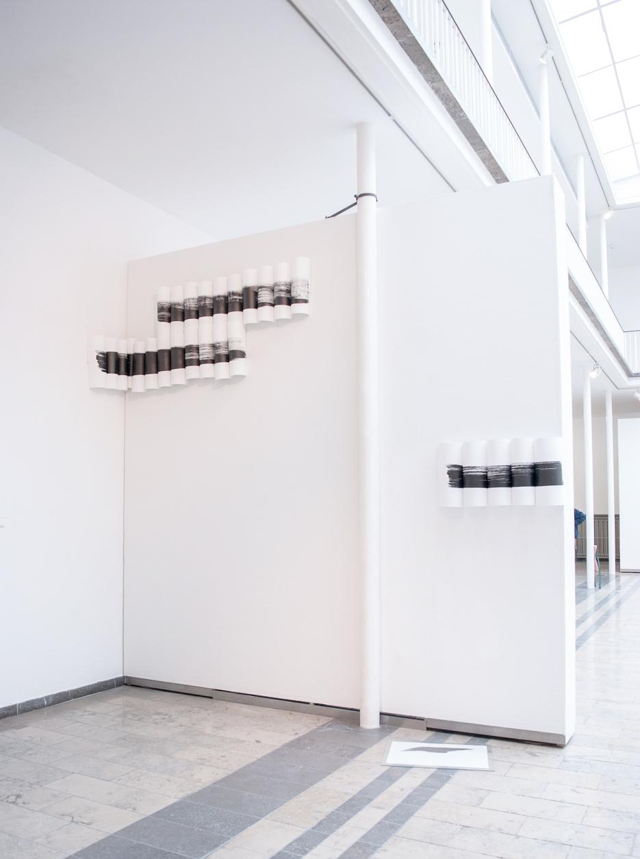 Mimi Kunz Strokes, 2016 Exhibition View